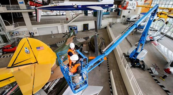 GENIE® Z™ 60/37DC Boom takes zero emission operation higher