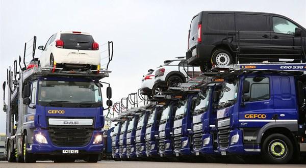 Fraikin provides a full service car transporter package for GEFCO UK