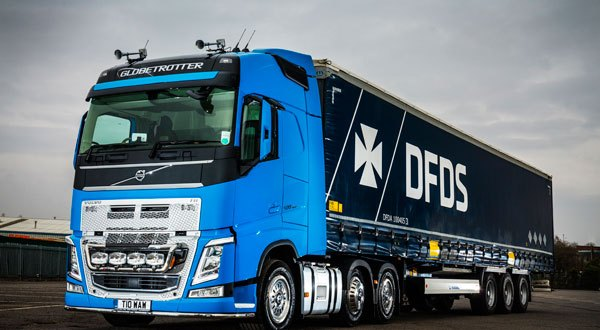 First new truck for Coventry owner driver Bill Wheatley is a Volvo Volvo FH-500