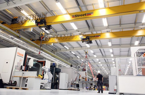 Cutting-edge factory to benefit from Street's bespoke cranes