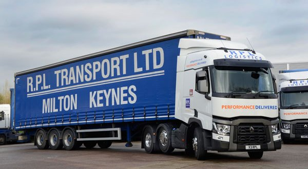 RPL Logistics grows fleet with Renault Trucks Range Ts