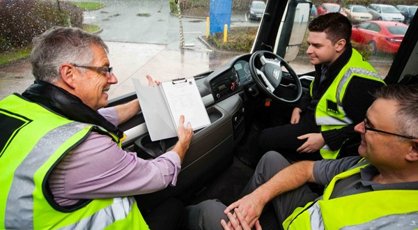 RTITB champions logistics road safety at health & safety event 2016