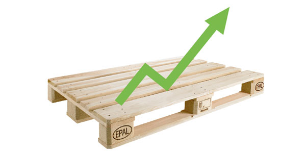 EPAL-licensed Euro pallets are the world's No. 1 inspected load carrier