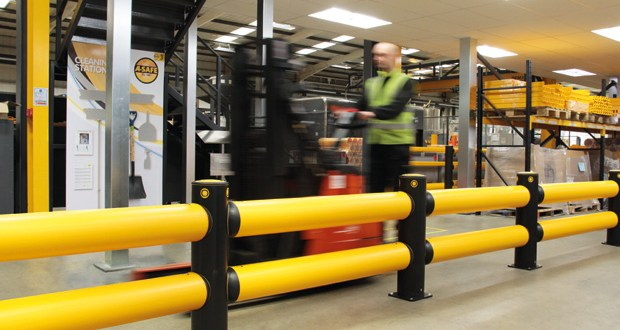 Safety Barriers should not compromise facility hygiene
