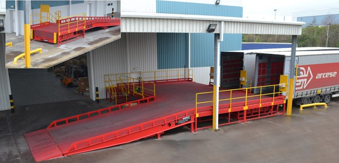 Thorworld's flexible laoding bay solution delivers safe, cost effective results for Arcese