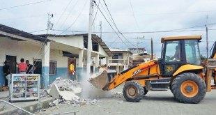 JCB donates 3CX Backhoe Loader to help quake-hit Ecuador