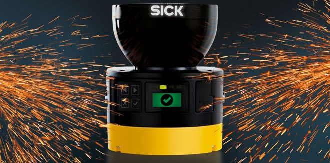 SICK launches next-generation microScan3 safety laser scanner