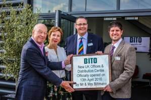 Mr and Mrs Bittman with Edward Hutchison and Jason Austin of Bito UK