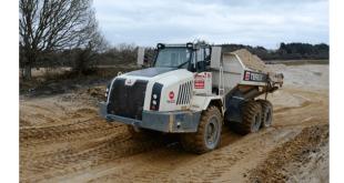Terex Trucks helps dig deep for rare Dorset clay