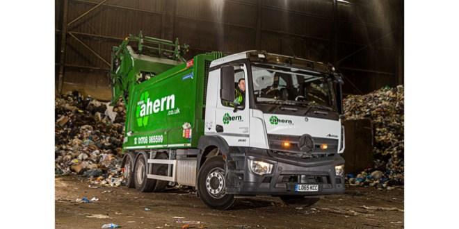 Ahern goes greener with Mercedes-Benz Antos