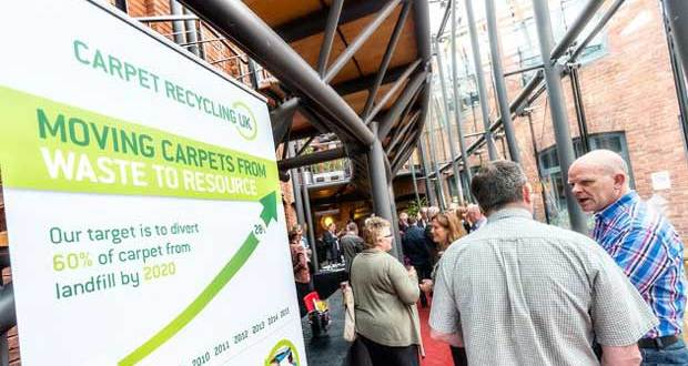 Carpet Recycling UK Conference: championing resource recovery from carpets