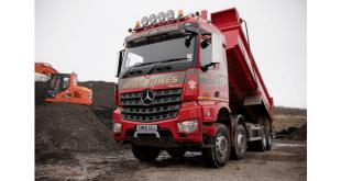 Mercedes-Benz Arocs tips the balance for John Jones