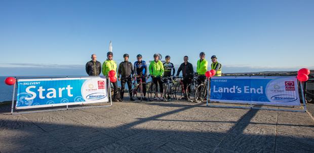 999 miles - Wincanton takes on Land's End to John O'Groats challenge
