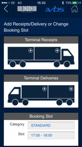 Tilbury London Container Terminal launches first vehicle booking app for hauliers