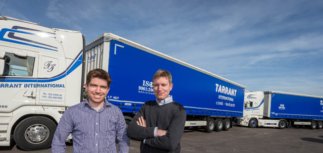 Krone Trailers provide 'flexibility and speed' for Tarrant International