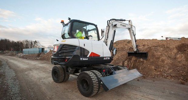 Bobcat launches new E57W stage IIIB Wheeled Excavator