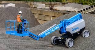 Terex Aerial Work Platforms (AWP) introduce a new fuel- electric Genie® Z™-boom lift at Bauma