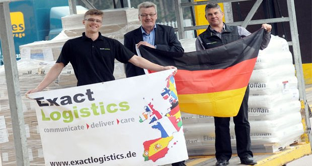Rugby logistics company makes new German partnership