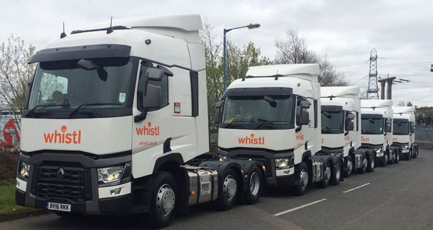 Whistl invests in new HGV fleet