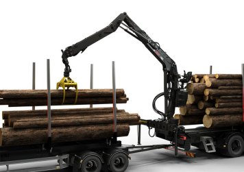 Hiab introduces new LOGLIFT 140Z and 150Z forestry cranes with several new features in KWF 1