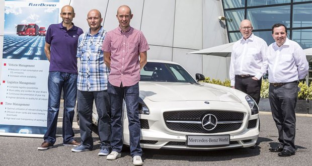 The hunt is on for Mercedes-Benz FleetBoard's best drivers of 2016
