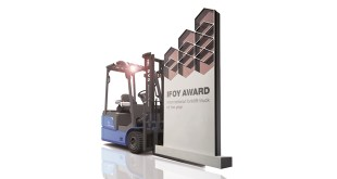 IFOY test winner: BYD electric forklift ECB18C triumphs at CeMAT