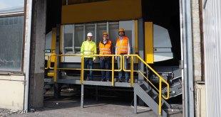 UNTHA XR shredder boosts capacity of German SRF specialist