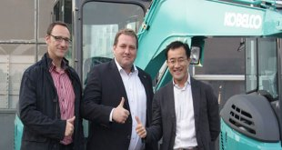 Continued German network expansion for Kobelco
