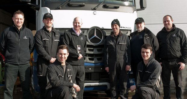 It's 'All for one, one for all' at Mercedes-Benz Truck & Van (NI)