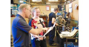 Young engineer flies the flag for British Manufacturing
