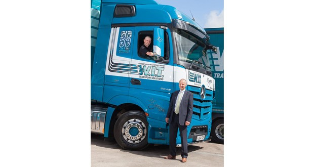 W.I.T. celebrates in style with anniversary Actros