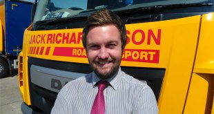 High five for Jack Richards' new Office & Business Development Manager