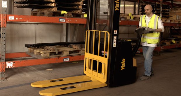New pedestrian stacker series set to deliver greater operator confidence says Yale