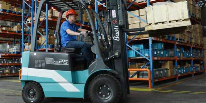 Baoli exhibits at IMHX 2016 reliable forklifts