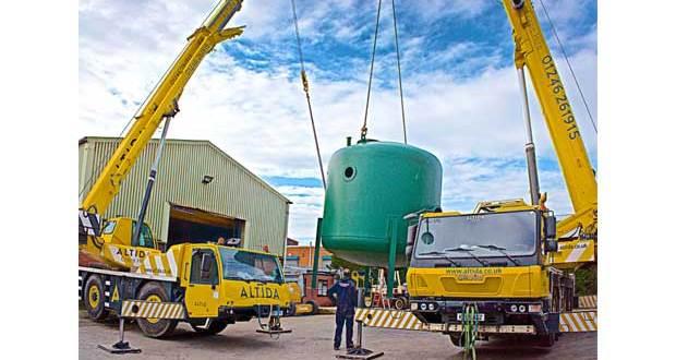 BigChange JobWatch takes ALTIDA Crane Hire to new heights