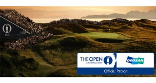 Doosan serves as patron of The Open 2016