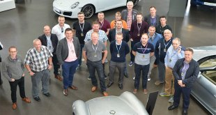 Hormann gets behind the wheel to celebrate new projects