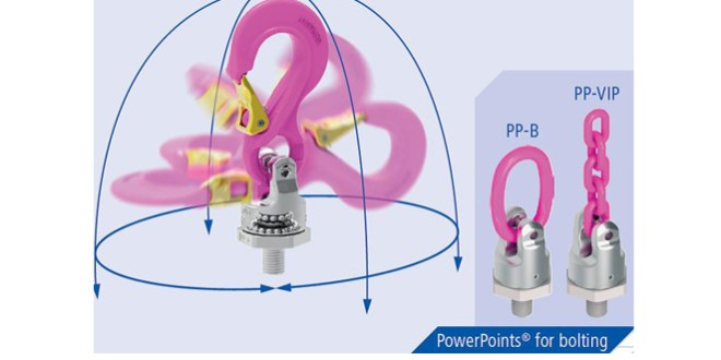 RUD Chains PowerPoint Star turns, swivels & rotates loads safely