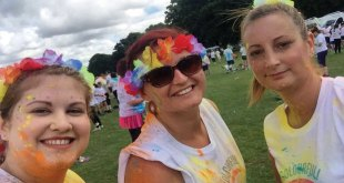 Stertil Dock Products girls complete Colour Rush to combat domestic abuse