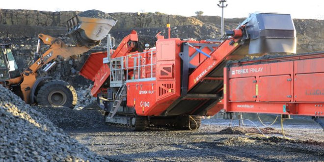 Terex Finlay launch new variant of C-1540 cone crusher