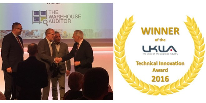 The Warehouse Auditor wins at UKWA Awards