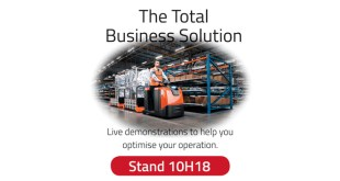 Toyota Material Handling UK live demonstrations at IMHX 2016