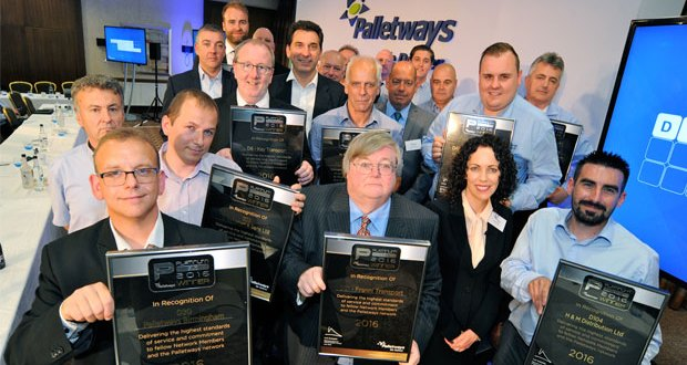 Palletways members go Platinum for 2016