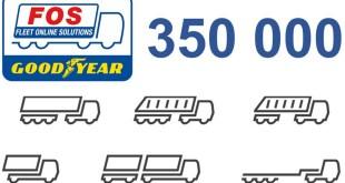 Goodyear FleetOnlineSolutions vehicle numbers head for milestone