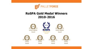 Seven RoSPA Golds for Palletforce