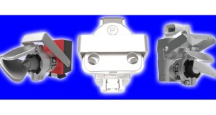 Extracted Key Adaptor from Fortress Interlocks prevents inadvertent machinery startup