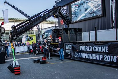 Tim Hansen at World Crane Championships at IAA 2016