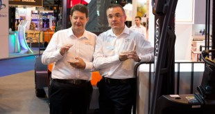 Toyota Material Handling collects accolades at IMHX 2016 Design4Safety awards