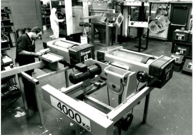 Building the first NX hoists mid 80s