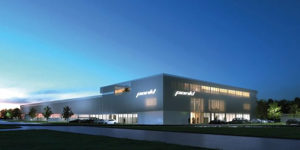 Pankl's new factory in Kapfenberg, Austria, which will begin manufacturing high-performance motorcycle gearboxes in 2017